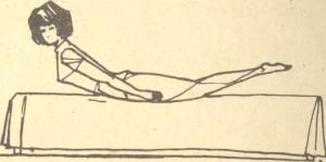 упражнение для утренней зарядки - лодочка